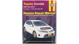 Haynes Repair Manual Suits Toyota Corolla 07-15 92729