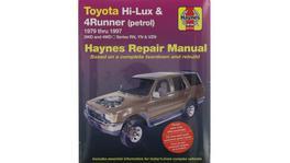 Haynes Repair Manual Suits Toyota Hi Lux 4x4 & 4x2 Petrol & Toyota Runner Petrol 79-97 92735