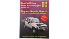 Haynes Repair Manual Suits Toyota Hi Lux 4x4 & 4x2 97-05 92737