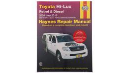 Haynes Repair Manual Suits Toyota Hi Lux 4x4 & 4x2 05-15 92738