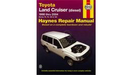 Haynes Repair Manual Suits Toyota Land Cruiser 98-07 92752