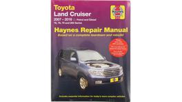 Haynes Repair Manual Suits Toyota Land Cruiser Petrol and Diesel 07-15 92753