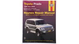 Haynes Repair Manual Suits Toyota Prado 96-09 92760