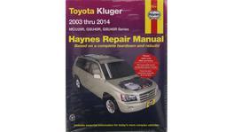 Haynes Repair Manual Suits Toyota Kluger Petrol 03-14 92795