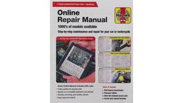 Haynes Online Repair Manual Card HMOL1