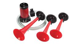 HELLA Air Horn Kit Triple Trumpet 6007