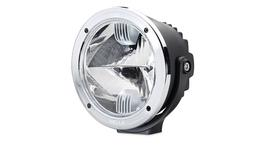 HELLA Luminator Compact LED Driving Light Chrome Rim 1394LED