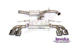 Invidia Q300 Cat Back Exhaust fits Volkswagen Golf R Mk7