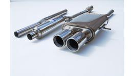 Invidia Q300 Cat Back Exhaust Dual S/S Tips fits Mini Cooper S MY07-15