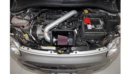 K&N 69-3303TS Typhoon Induction Kit fits Fiat 500 1.4L 2012-16 74995