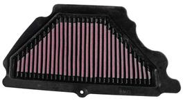 K&N Motorcycle Air Filter Fits Kawasaki ZX6R 07-08 - KA-6007