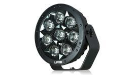 LIVID Lighting HYPERDRIVE MK2 8.8inch 80w LED Driving Light Black - Wide