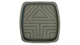 Mean Mother MM4851 Deep Dish Rubber Floor Mat Rear Grey