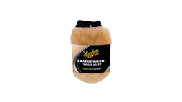 Meguiars Car Wash Mitt Lambswool w/ Bug Remover AG1015