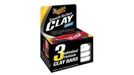 Meguiars Smooth Surface Quik Clay Bars 3x50g G1117