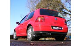 Milltek Cat Back Exhaust 2.5 Inch SSXVW056 fits VW Golf Mk4 GTI 1.8/1.9 TDI 1998-04