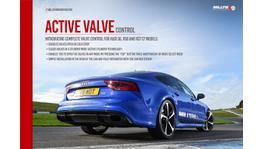 Milltek Active Valve Control SSXAU675 fits Audi RS7 Sportsback 4.0 V8 TFSI TT 2013-On