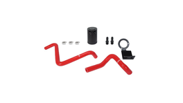 Mishimoto Baffled Oil Catch Can (Red) fits Subaru BRZ/Toyota GT86