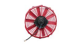"Mishimoto Slim Electric Fan 12"" (Red)"