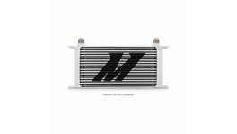 Mishimoto Universal 19 Row Oil Cooler (Silver)