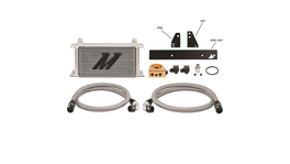 Mishimoto Oil Cooler Kit Thermostatic (Silver) fits Nissan 370Z