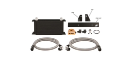 Mishimoto Oil Cooler Kit Thermostatic (Black) fits Nissan 370Z