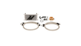 Mishimoto Oil Cooler Kit Thermostatic (Silver) fits Subaru WRX STI