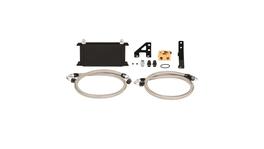 Mishimoto Oil Cooler Kit Thermostatic (Black) fits Subaru WRX STI
