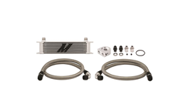 Mishimoto 10 Row Oil Cooler Kit (Silver) 262865