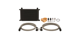 Mishimoto 25 Row Thermostatic Oil Cooler Kit (Black)