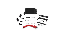 Mishimoto Top Mount Intercooler & Charge Pipe Kit (Red/Black) fits Subaru WRX 262672