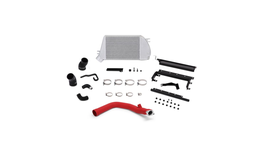 Mishimoto Top Mount Intercooler & Charge Pipe Kit (Red/Silver) fits Subaru WRX 262673