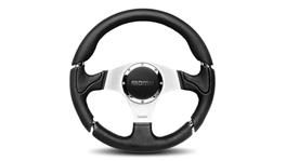 MOMO Steering Wheel Millenium Black/Silver 320 11106542111