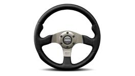 MOMO Steering Wheel Race Black/Silver 320 11108162912