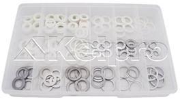 Kelpro Sump Plug Washer Assortment Kit (Nylon & Alluminium) KWA2000
