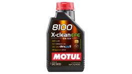 Motul 5W30 Engine Oil 8100 X-Clean EFE 100% Synthetic 1L