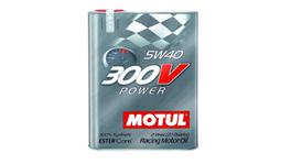 Motul 5W40 Engine Oil 300V Power 100% Synthetic 20L