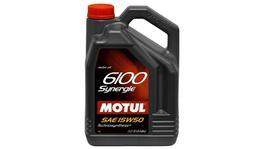 Motul 15W50 Engine Oil 6100 Synergie 5L