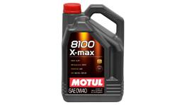 Motul 0W40 Engine Oil 8100 X-Max 100% Synthetic 5L