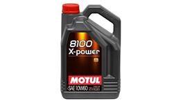 Motul 8100 X-POWER 10W60 Engine Oil 5L