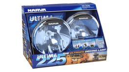 Narva Ultima 225 Blue Broad Beam Driving Lamp Kit 12V 100W - 71670BE 263667