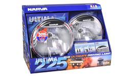 Narva Ultima 225 HID Broad Beam Driving Lamp Kit 12V 50W - 71670HID 263668