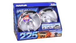 Narva Ultima 225 HID Pencil Beam Driving Lamp Kit 12V 50W - 71680HID 263672