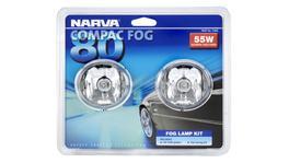 Narva Compac 80 Oval Fog Lamp Kit 12V 55W - 71840