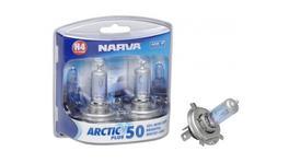 Narva H4 Globes 12V 60/55W Arctic Plus 50 2 Pack 48677BL2