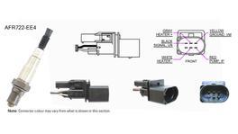 NGK NTK Oxygen Lambda Sensor AFR722-EE4