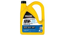 Nulon Premium Mineral Oil Fast Flowing 10W30 5L 3 Box 107713