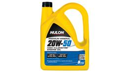 Nulon 20W50 Engine Oil Mineral High KM 5L