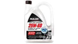 Nulon Premium Mineral Oil Street and Track 25W60 5L 3 Box