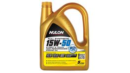 Nulon Full Synthetic Street Track Engine Oil 15W50 5L 3 Box